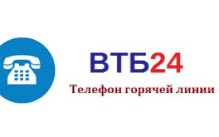 Горячая линия ВТБ 24