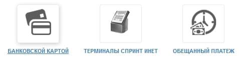 Горячая линия провайдера Спринт-инет