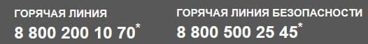 Телефон горячей линии РН-Карт Роснефти